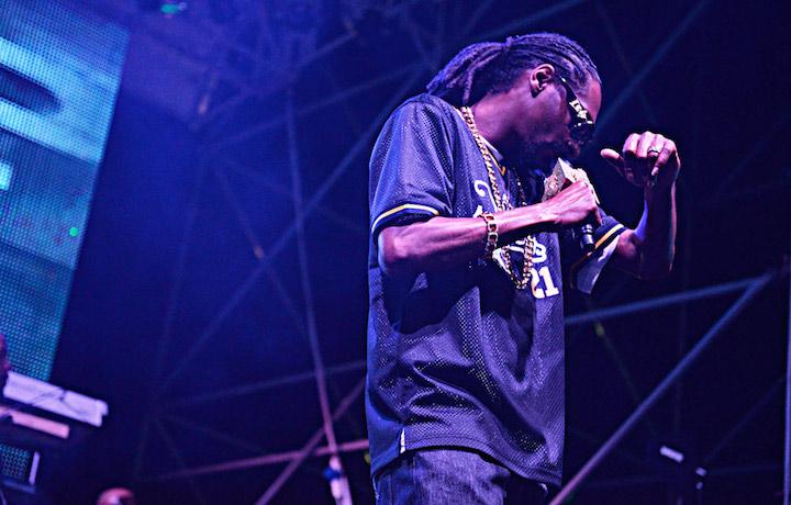 Snoop Dogg all'Arenile di Napoli. Foto: Antonio Siringo