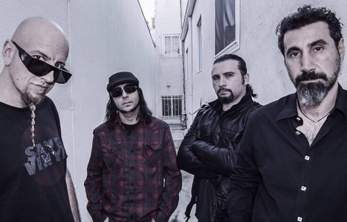 System of a Down. Foto: Stampa