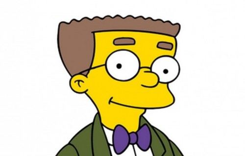 Waylon Smithers, l' assistente tuttofare di Mr. Burns