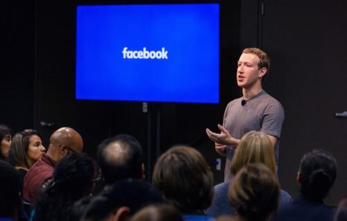 Mark Zuckerberg durante il Q&A di ieri