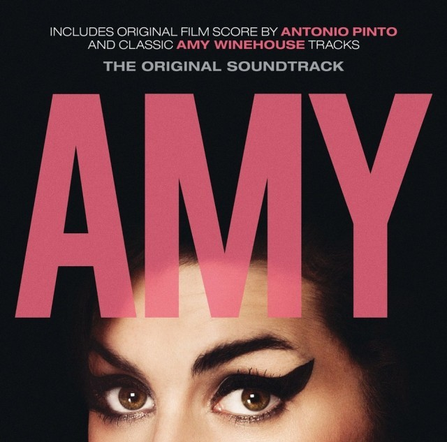 "La copertina della colonna sonora di ""Amy: The Girl Behind The Name"""
