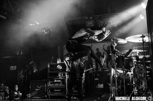HCSS, Hardcore Superstar, Michael Monroe, Monaco, live, ottobre 2015, foto, gallery, Michele Aldeghi