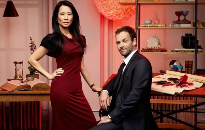"Lucy Liu e Jonny Lee Miller, i protagonisti di ""Elementary"""