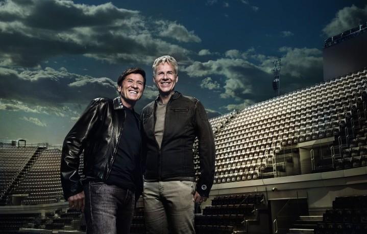 Gianni Morandi, Claudio Baglioni - Foto Stampa