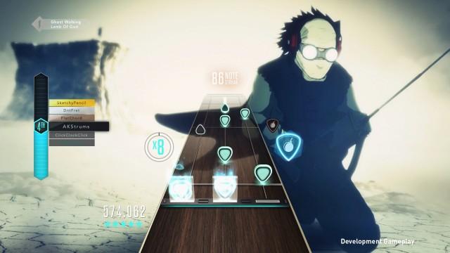 """Uno screenshot del gameplay nella modalità """"TV"""""""