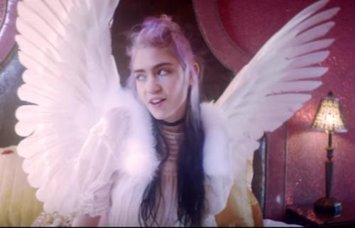 "Il nuovo video di Grimes, guarda ""Flesh without Blood/Life in the Vivid Dream"""