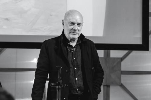 Brian Eno al Medimex - Foto di Luigi Rizzo
