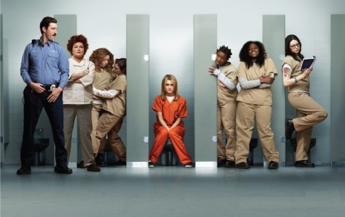 La locandina di Orange is the New Black, in Italia dal 22 ottobre 2015