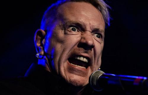 John Lydon fotografato da Michele Aldeghi al concerto dei Public Image Ltd. ai Magazzini Generali di Milano, l'11 ottobre scorso