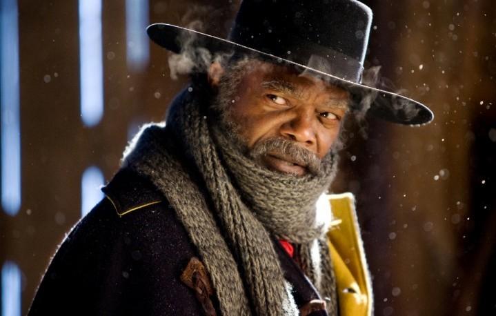 "Samuel L. Jackson in ""The Hateful Eight"""