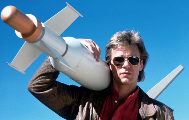 Richard Dean Anderson nei panni di MacGyver