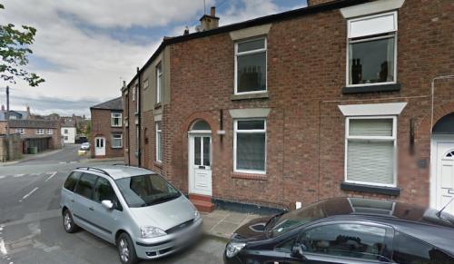 La casa di Ian Curtis a Macclesfield, Regno Unito