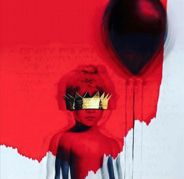 """La cover del nuovo album di Rihanna, """"ANTI"""""""