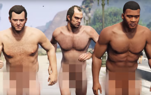 "Una scena di ""What's My Age Again"" versione GTA V"