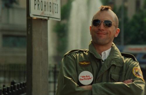 Robert De Niro in Taxi Driver