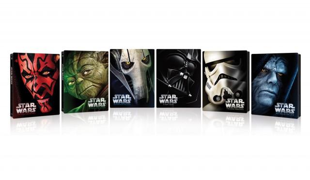 """La nuova release di """"Star Wars: La Saga Completa"""" raccoglie i 6 film in Blu-ray insieme a 3 dischi aggiuntivi che includono oltre 40 ore di contenuti speciali"""