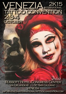 Dal 2 al 4 ottobre l'International Tattoo Convention sbarca a Venezia