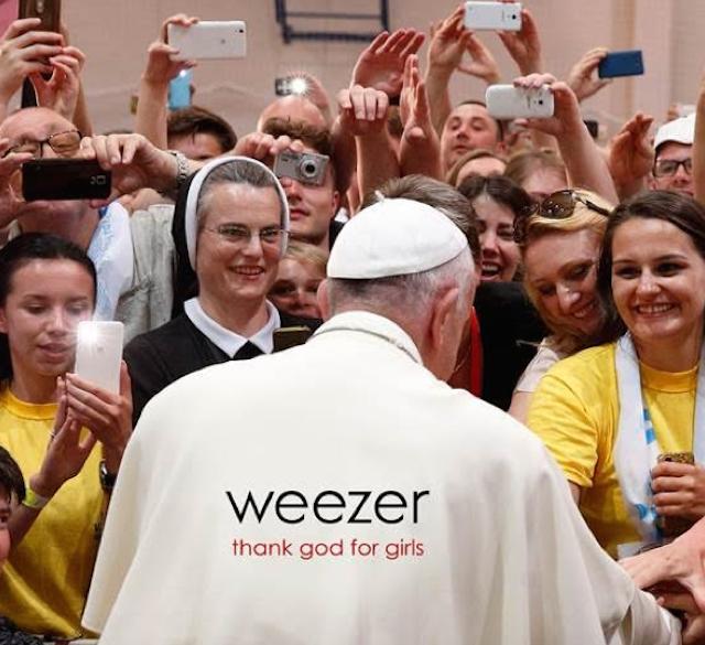 """La copertina del nuovo singolo dei Weezer, ascolta """"Thank God for Girls"""""""