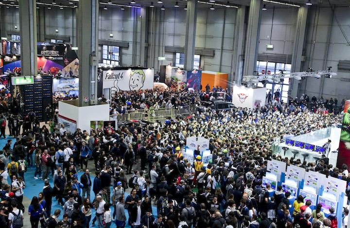L'affluenza alla Milano Games Week. In tutto l'articolo, foto stampa