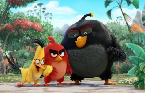 "Un'immagine del film di ""Angry Birds"""