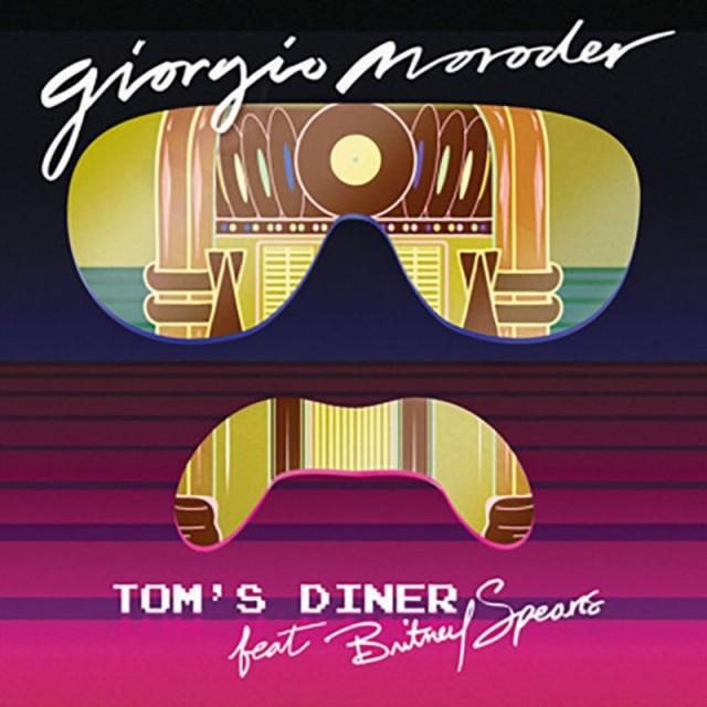 """La cover di """"Tom's Diner"""", il nuovo singolo di Giorgio Moroder feat. Britney Spears"""