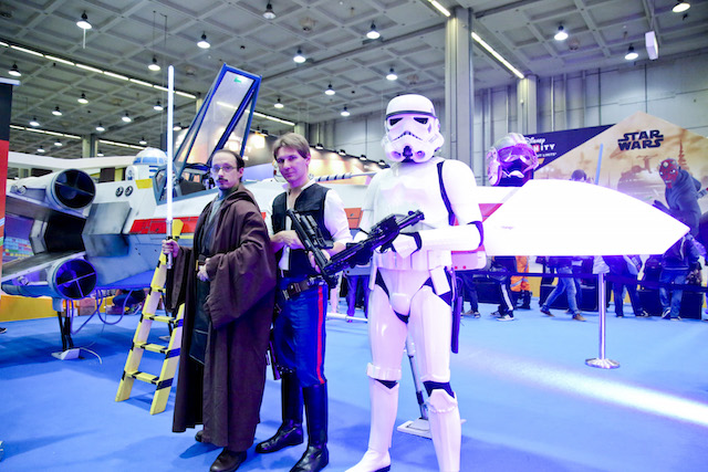 Cosplayer di Star Wars