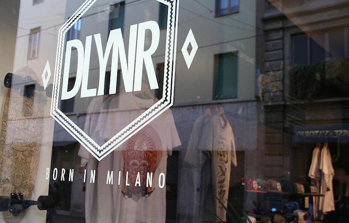 La vetrina del monomarca Dolly Noire a Milano