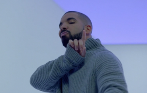 Un fotogramma del video di Hotline Bling di Drake