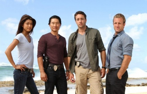 "Il cast di ""Hawaii Five-0"". Photo: MARIO PEREZ/CBS"