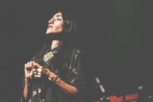 Hindi Zahra, live, concerto, Homeland, Auditorium, Roma, 28 ottobre 2015, world music, foto, gallery, Giulia Razzauti