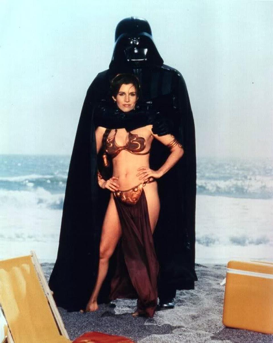 Leia e Vader