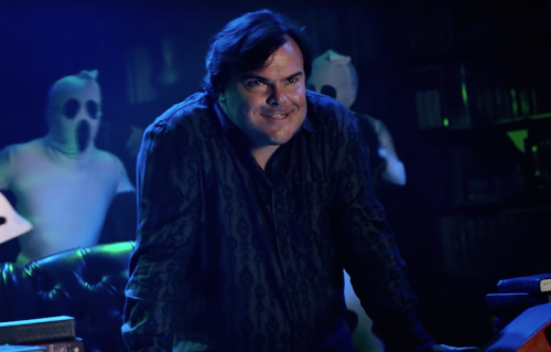 "Jack Black in un frame del video ""Bumps Gonna Goose Ya!"""