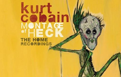 """Un dettaglio della copertina di """"Montage of Heck: The Home Recordings"""""""
