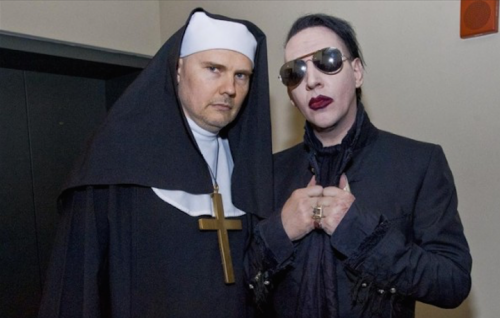 Billy Corgan e Marilyn Manson