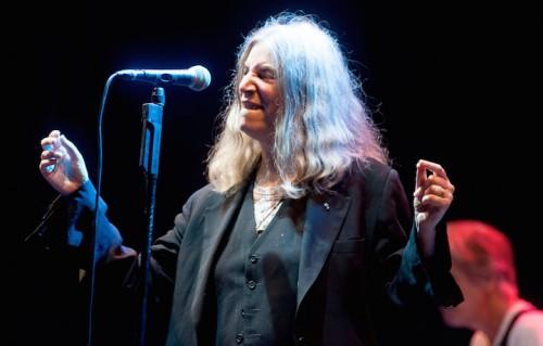 Patti Smith al Flowers Festival a Torino lo scorso luglio. Foto: Daniele Baldi