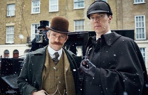 """Martin Freeman e Benedict Cumberbatch protagonisti della nuova stagione di """"Sherlock"""""""
