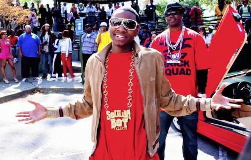 "Un frame del video ""Gucci Bandanna"" di Soulja Boy"