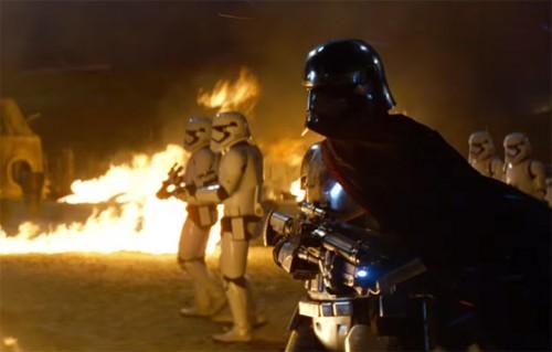 """Una scena del trailer di """"Star Wars - Il risveglio della forza"""""""