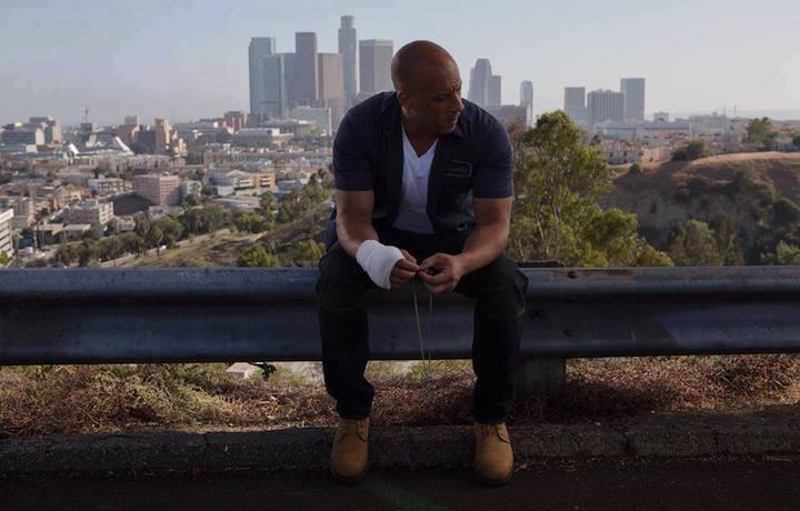 Un'immagine di Vin Diesel nell'ultimo episodio di F&F