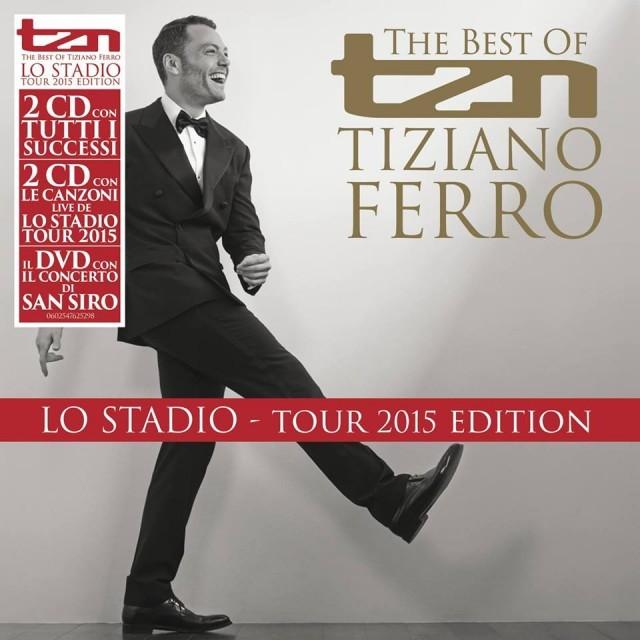 """La cover di"""" TZN, The best of Tiziano Ferro"""""""