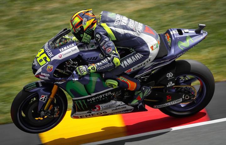 Valentino Rossi, domenica pronto per l'ultima gara della stagione