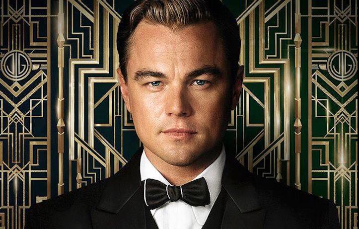 """Leonardo DiCaprio nella locandina di """"Il Grande Gatsby"""" di Baz Luhrmann, uscito nel 2013"""