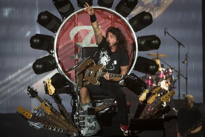 Le foto del concerto dei Foo Fighters all' Unipol Arena di Bologna - Foto di Max Donati