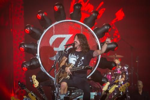 Foo Fighters, Dave Grohl, Bologna, 13 novembre 2015 - Foto di Massimiliano Donati