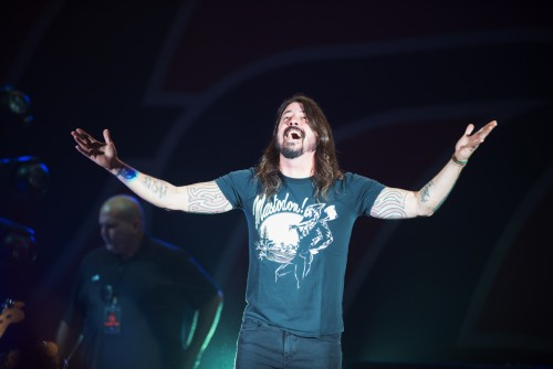 Foo Fighters, Dave Grohl, Cesena, 3 novembre 2015, Rock in 1000, live, concerto, foto, gallery, Giuseppe Craca
