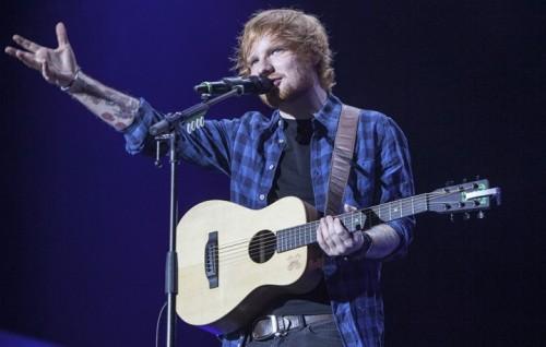Ed Sheeran a Milano nel 2015. Foto: Ikka Mirabelli