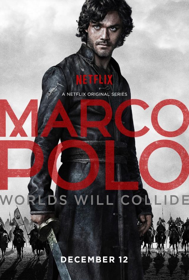 """La locandina italiana di """"Marco Polo"""", su Netflix dal 22 ottobre"""