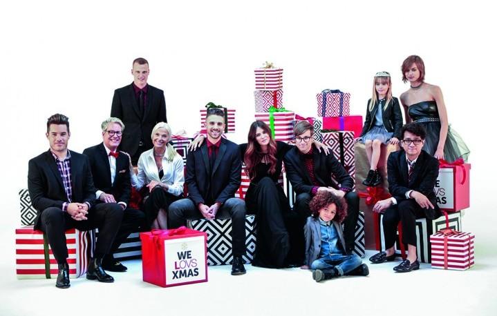 I Saint Motel e Bianca Balti nella campagna natalizia di OVS