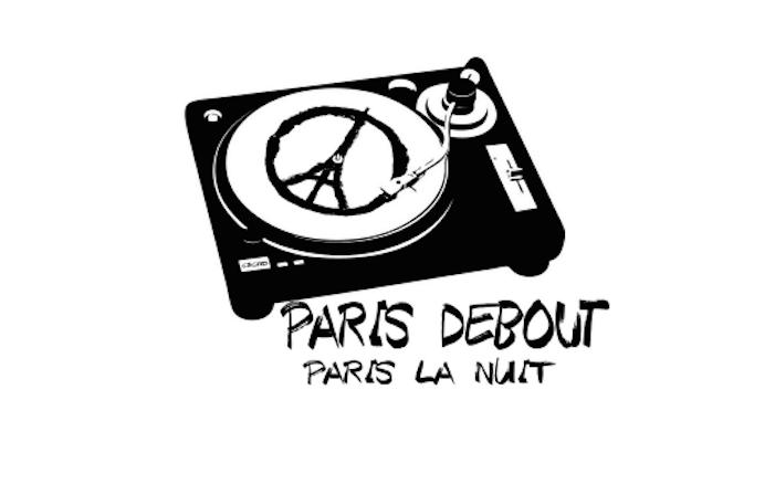 Il logo che accompagna la dichiarazione del Chambre Syndicale des Cabarets Artistiques et Discothèques di Parigi