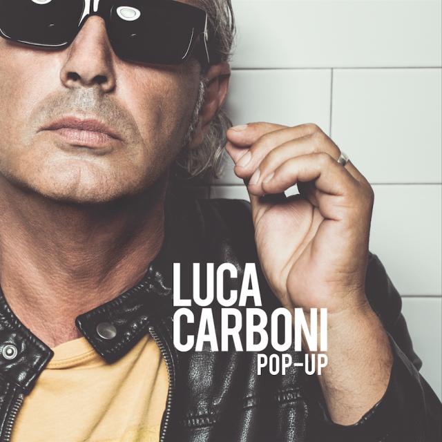 """La copertina di """"Pop-up"""", il nuovo album di Luca Carboni uscito il 2 ottobre 2015"""